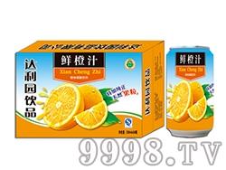 达利园鲜橙汁饮料