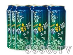 达利园雪柠檬碳酸饮料罐装