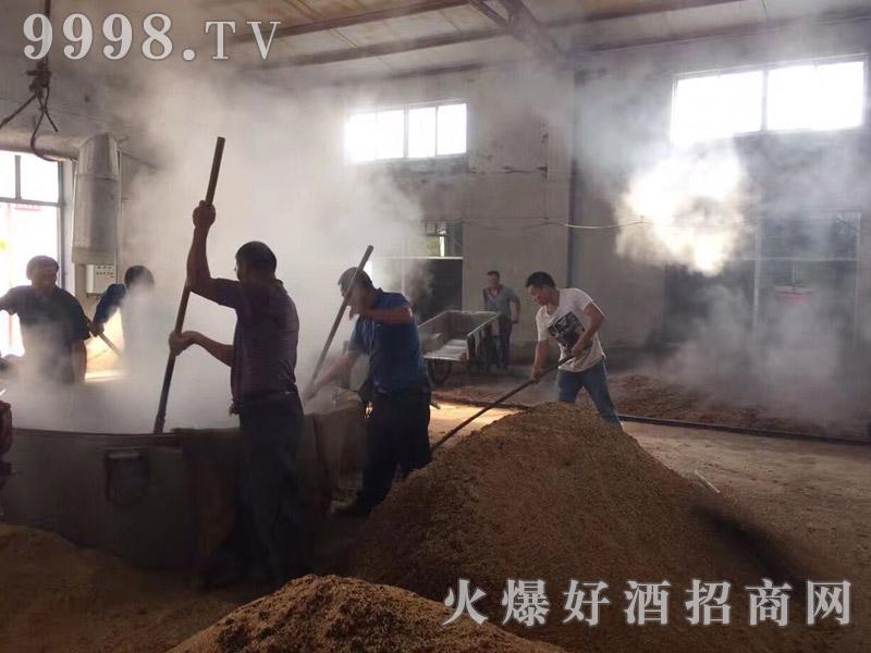 洋河国鼎酒业-酿酒