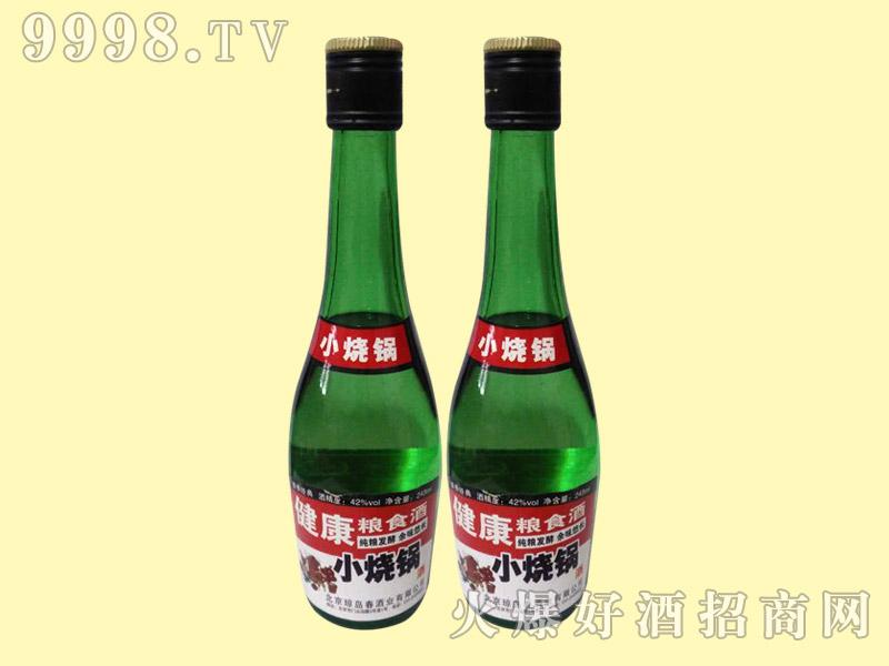 健康粮食酒小烧锅248ml