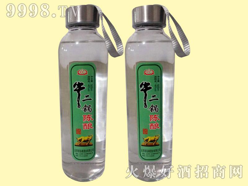 牛二锅陈酿酒(水杯装)