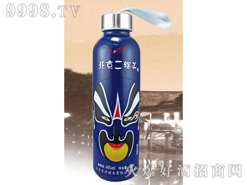 郓城龙腾包装口杯瓶系列K-017蓝瓶80年代
