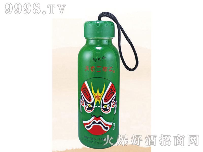 郓城龙腾包装口杯瓶系列K-012绿瓶脸谱北京二锅头