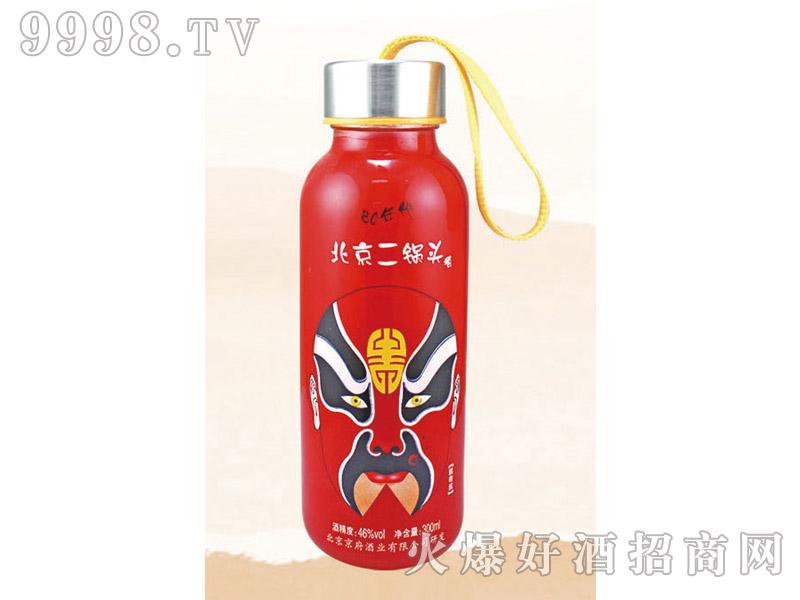 郓城龙腾包装口杯瓶系列K-013红瓶脸谱北京二锅头