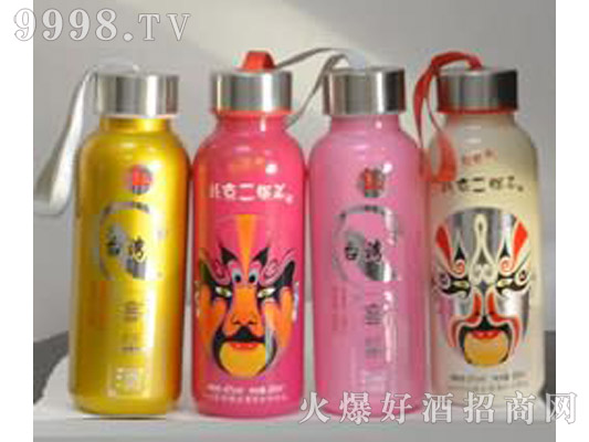 郓城龙腾包装口杯瓶系列K-002北京二锅头脸谱