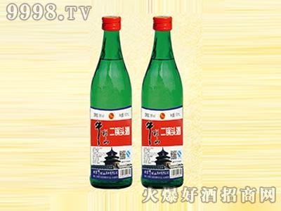 午拦山酒二锅头酒56度蓝瓶