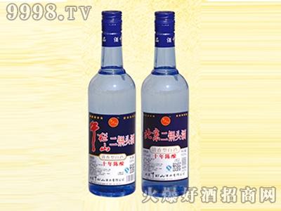午拦山酒二锅头酒蓝瓶