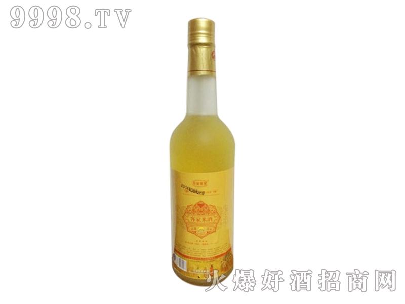 万安客家陈年米酒透明瓶装