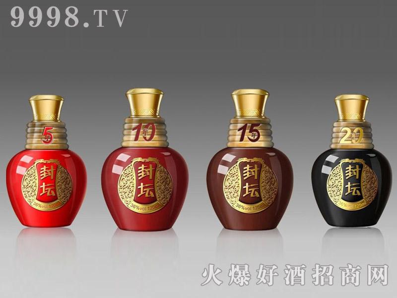 郓城鑫正包装精品小酒瓶FCX013封坛金标