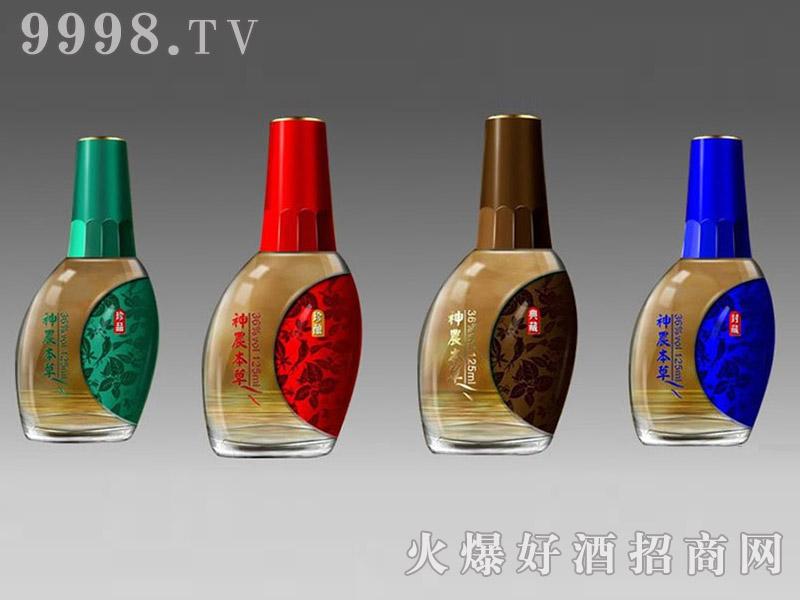郓城鑫正包装精品小酒瓶FCX011神农本草