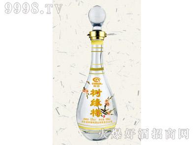 郓城鑫正包装烤花酒瓶FCK011树缘梅