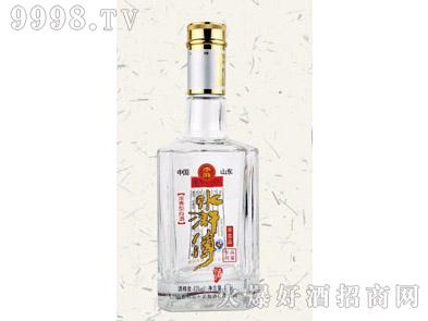 郓城鑫正包装烤花酒瓶FCK002水浒传