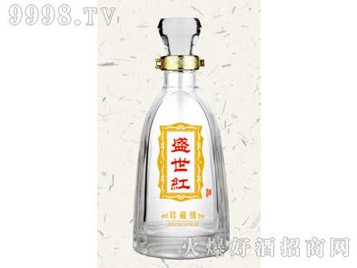 郓城鑫正包装烤花酒瓶FCK004盛世红