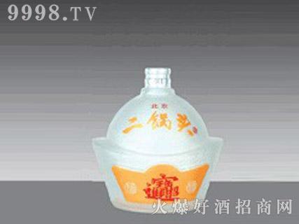 郓城鑫正包装蒙砂玻璃瓶FC-M020二锅头