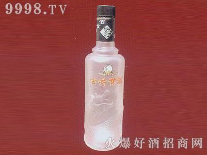 郓城鑫正包装蒙砂玻璃瓶FC-M016古井贡酒黑标