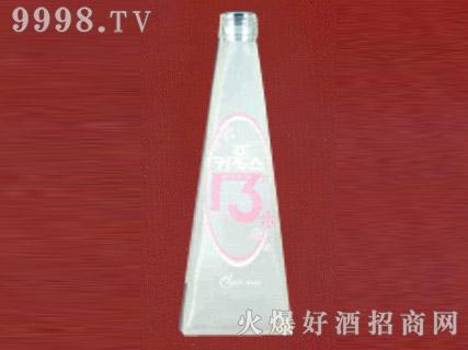 郓城鑫正包装蒙砂玻璃瓶FC-M019小酒