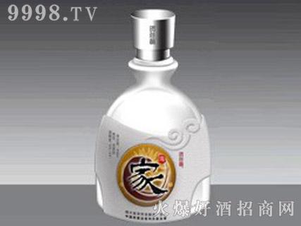 郓城鑫正包装蒙砂玻璃瓶FC-M014家酒