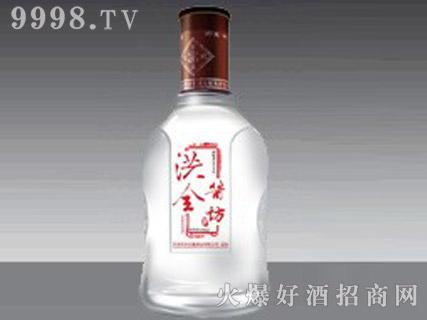 郓城鑫正包装蒙砂玻璃瓶FC-M012洪全酱坊