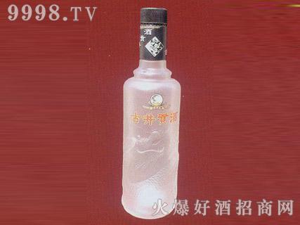 郓城鑫正包装蒙砂玻璃瓶FC-M009古井贡酒