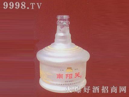 郓城鑫正包装蒙砂玻璃瓶FC-M006南阳关