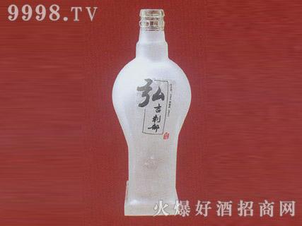 郓城鑫正包装蒙砂玻璃瓶FC-M007弘吉刺都