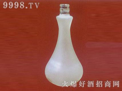郓城鑫正包装蒙砂玻璃瓶FC-M002浓香白酒