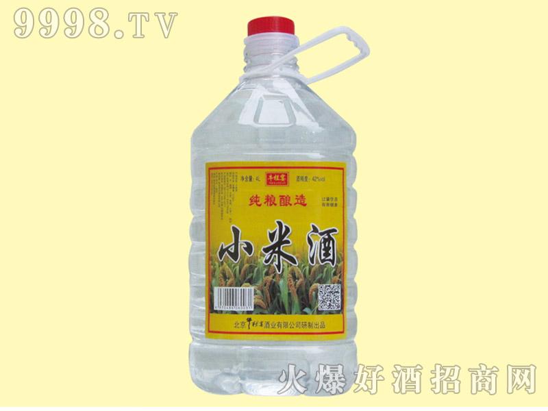 牛栏宴小米酒42度4L
