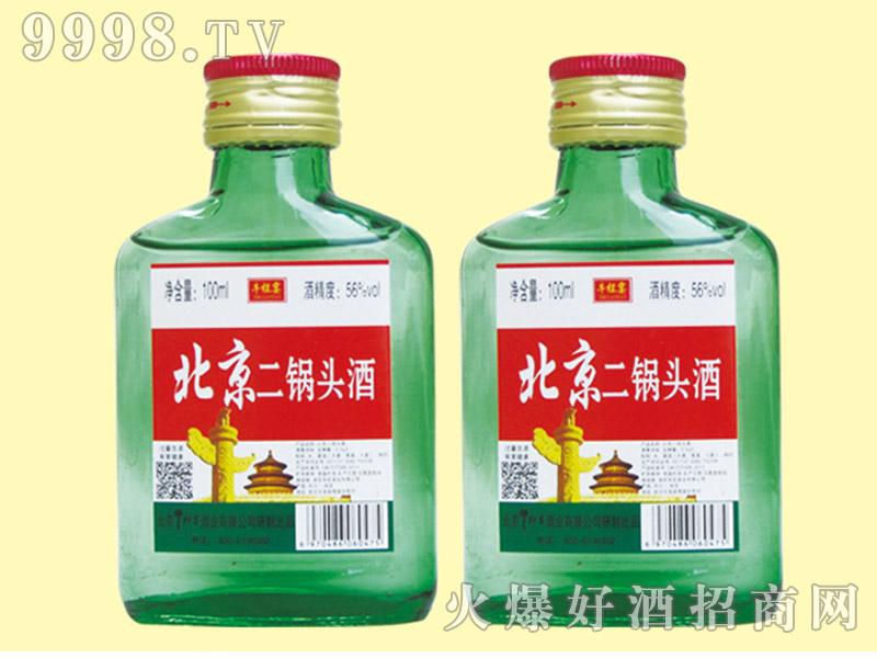 牛栏宴绿瓶北京二锅头酒56度100ml