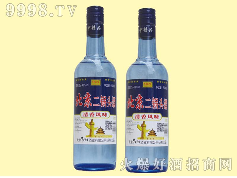 牛栏宴北京二锅头酒43度500ml