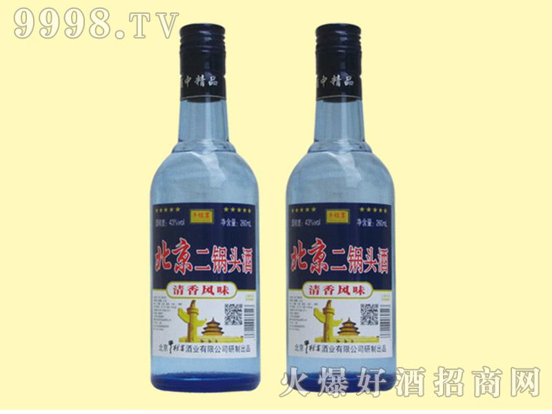 牛栏宴北京二锅头酒43度250ml