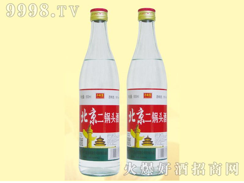 牛栏宴白瓶北京二锅头酒56度500ml