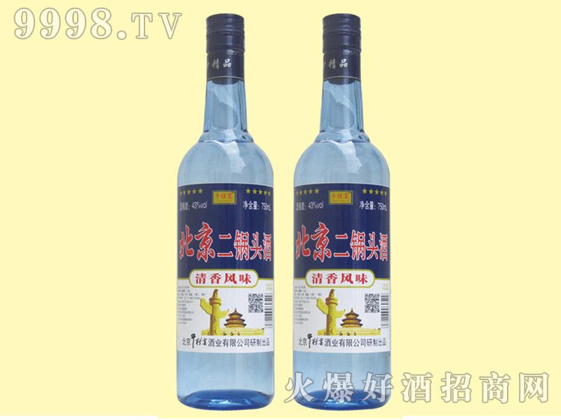 牛栏宴北京二锅头酒43度750ml