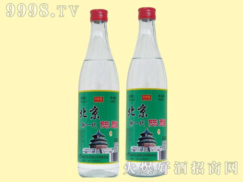 牛栏宴北京新一代陈酿酒42度500ml