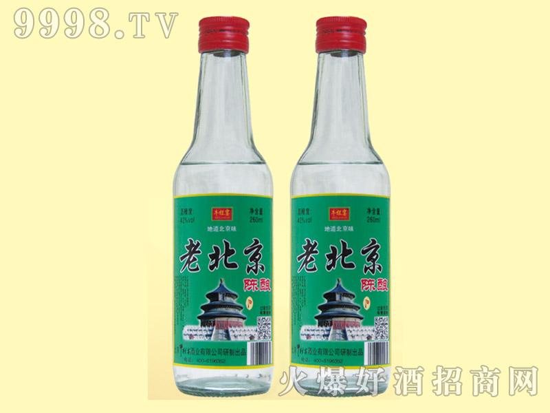 牛栏宴老北京陈酿酒42度260ml
