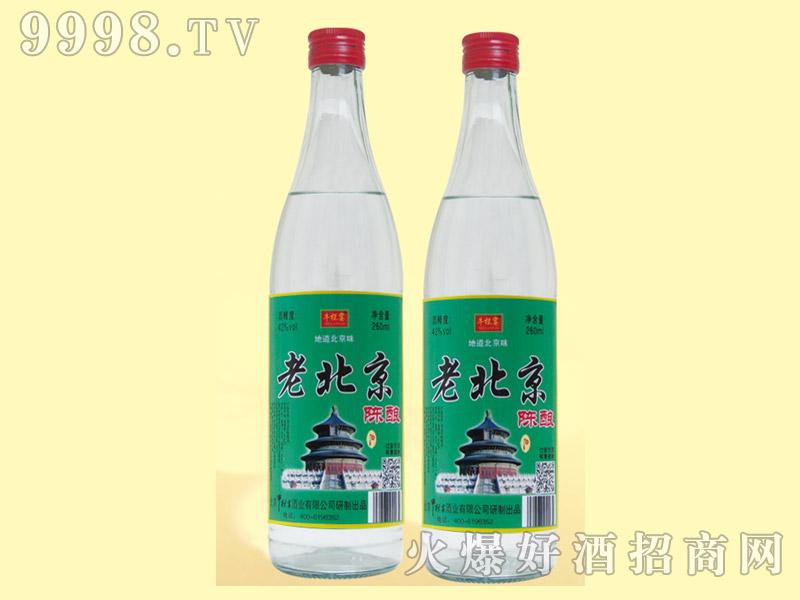 牛栏宴老北京陈酿酒42度500ml