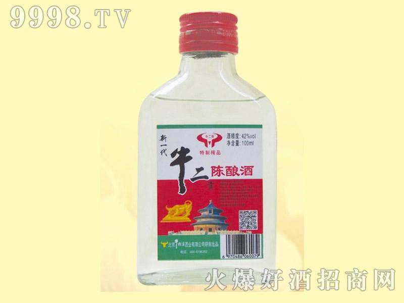 牛二贡特制精品陈酿酒42度100ml
