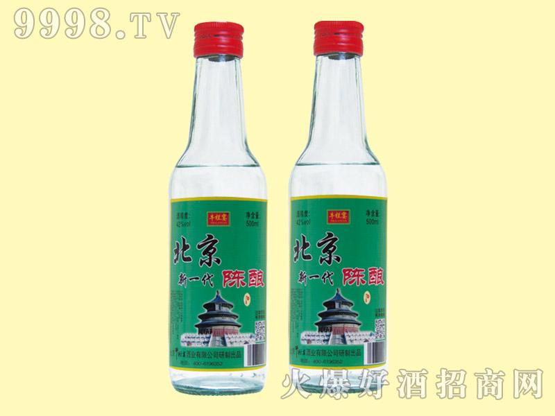 牛栏宴北京新一代陈酿酒43度250ml