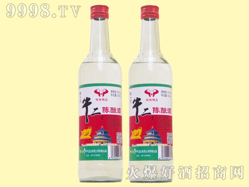 牛二贡特制精品陈酿酒42度500ml