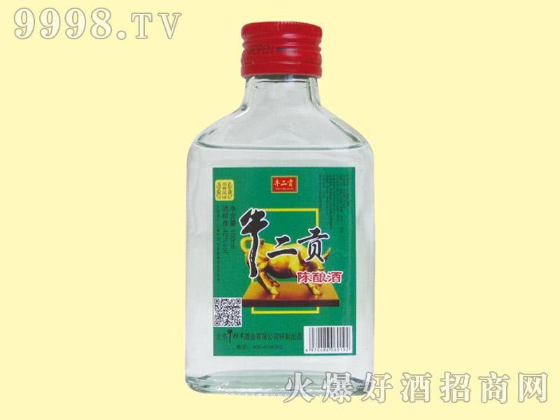 牛二贡陈酿酒42度100ml