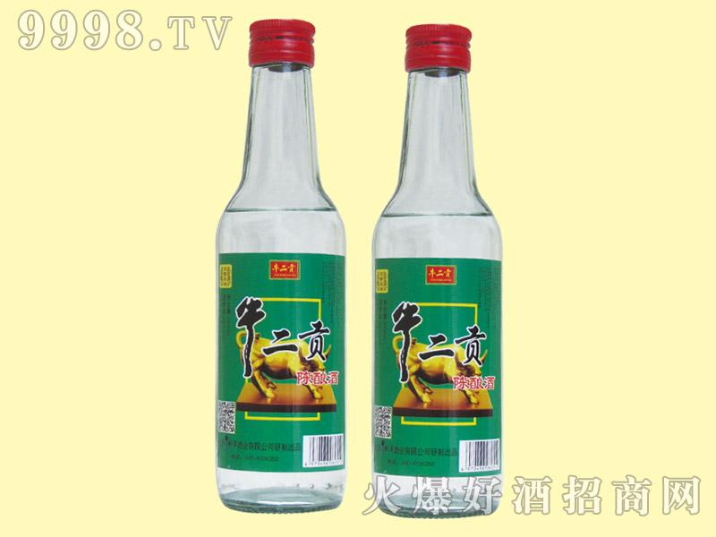 牛二贡陈酿酒42度260ml