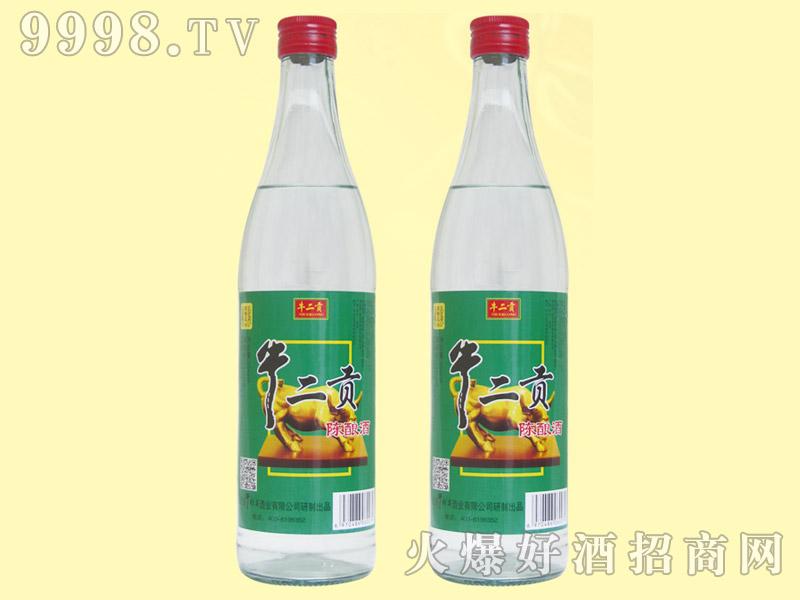 牛二贡陈酿酒42度500ml