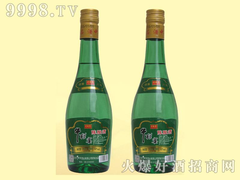 牛栏宴绿瓶陈酿酒42度260ml