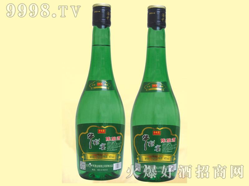 牛栏宴绿瓶陈酿酒42度475ml