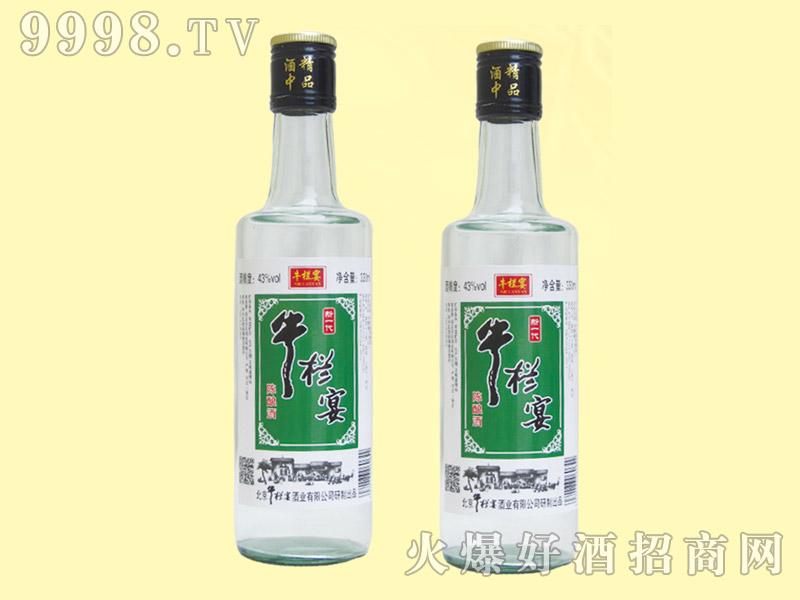 牛栏宴新一代陈酿酒43度