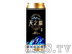天之蓝黑啤酒罐装