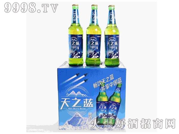 天之蓝啤酒绿瓶装490ml