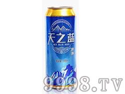 天之蓝啤酒罐装500ml