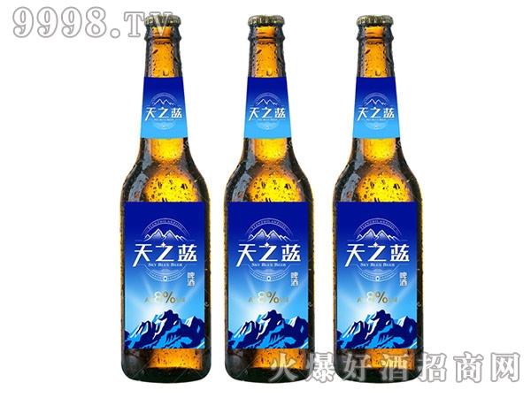 天之蓝啤酒瓶装500ml