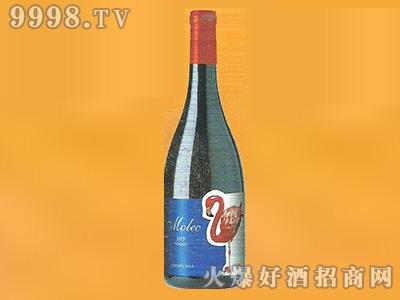 智利摩里兰卡干红葡萄酒蓝标