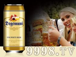 慕尼至尊白啤酒500ml罐11°